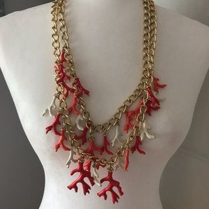 Lilly Pulitzer island coral Good Reef necklace